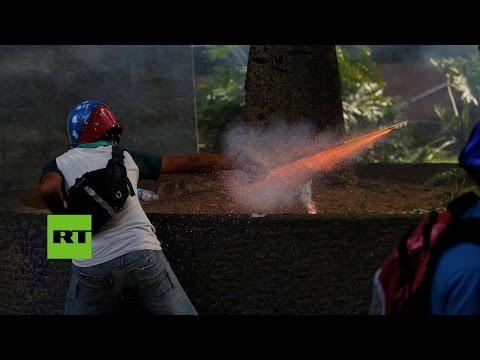 Venezuela: Marchas opositoras derivan en disturbios en varias ciudades