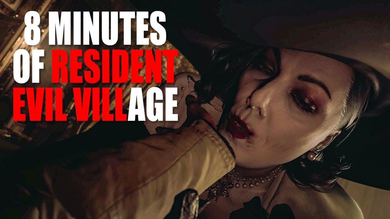 8 minutes of simping over Resident Evil Village's Tall ...