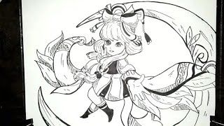 How To Draw Hero Mobile Legends