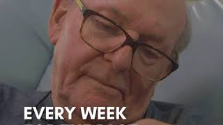 This precious grandpa comforts babies at an Atlanta hospital's ICU