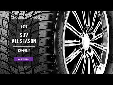 2018 all season tire test results 175 65 r14 youtube. Black Bedroom Furniture Sets. Home Design Ideas