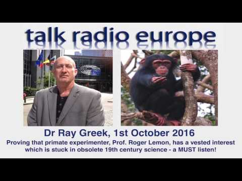 Interview with Dr Ray Greek, October 2016