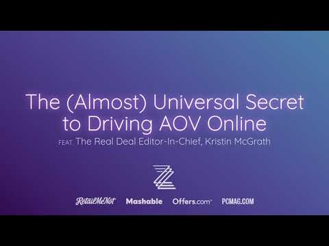 The (Almost) Universal Secret to Driving AOV Online