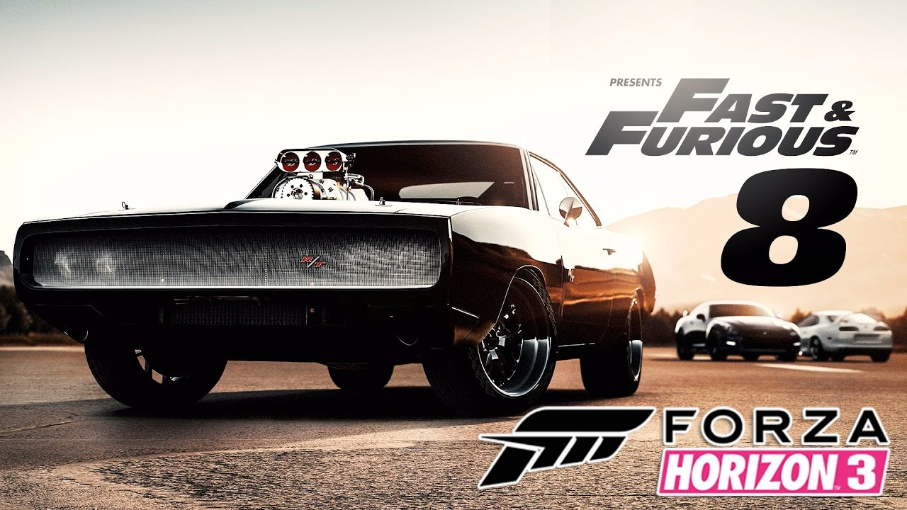 forza horizon 3 fast and furious 8 cars youtube. Black Bedroom Furniture Sets. Home Design Ideas