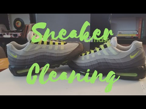 Cleaning Nike Air Max 95 OG!