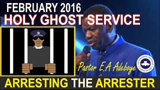 Pastor E.A Adeboye Sermon @ RCCG February 2016 HOLY GHOST SERVICE