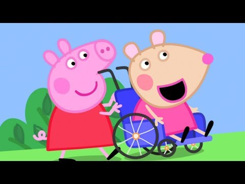 Peppa Pig English Episodes | Meet Mandy Mouse - Peppa Pig's New Friend | Peppa Pig