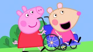 Peppa Pig English Episodes | Meet Mandy Mouse - Peppa Pig's New Friend | Peppa Pig
