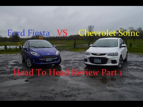 Subcompact Ford VS Chevy Pt.1 | Interior and Exterior Comparison