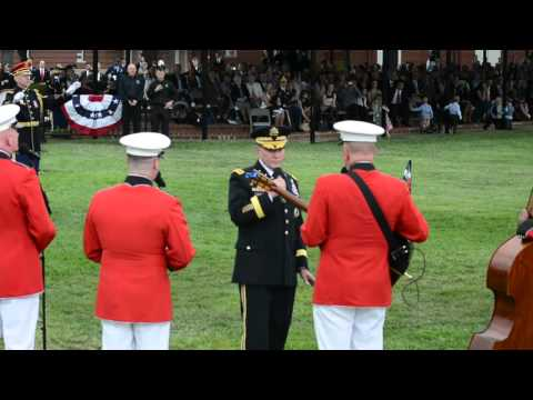 Dempsey sings one last song as Chairman of the Joint Chiefs of Staff
