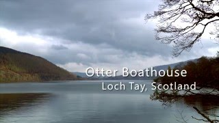 Osprey Boathouse, Loch Tay, Scotland