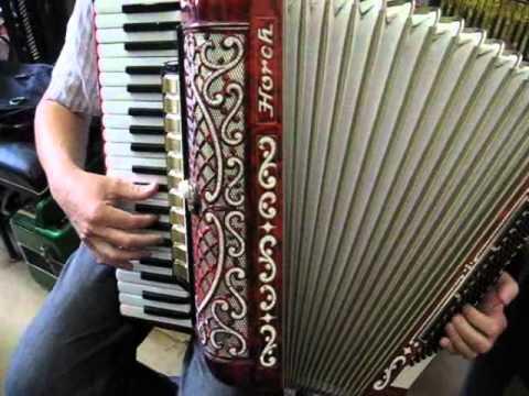 HORCH // vintage German accordion