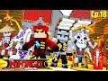 Minecraft LEGO NINJAGO - ROPO & COLE FALL FOR LORD GARMADONS TRAP!!