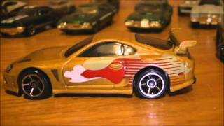 The Fast and the furious die cast collection Hot Wheels and Racing Champion