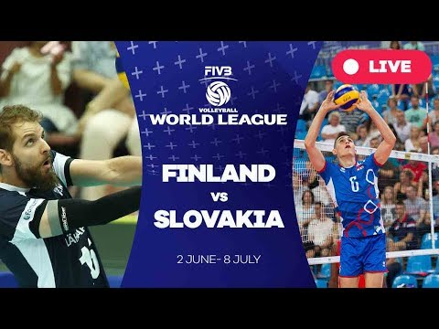 Finland v Slovakia - Group 2: 2017 FIVB Volleyball World League