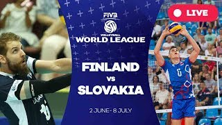 Finland v Slovakia - Group 2: 2017 FIVB Volleyball World League