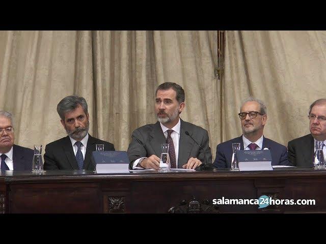 Presentación del Diccionario Panhispánico del Español Jurídico en Salamanca