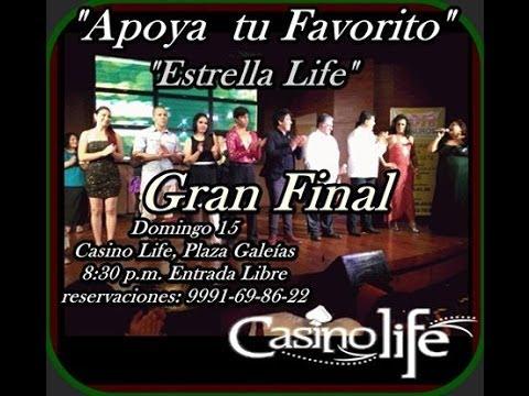 primer concurso talentos casino life music hall merida parte 1