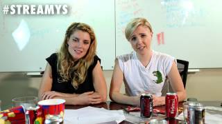 grace helbig and hannah hart will know if you re not watching streamys 2014