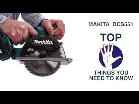 Makita DCS551 METAL SAW - The Top 5 Things You Need to Know