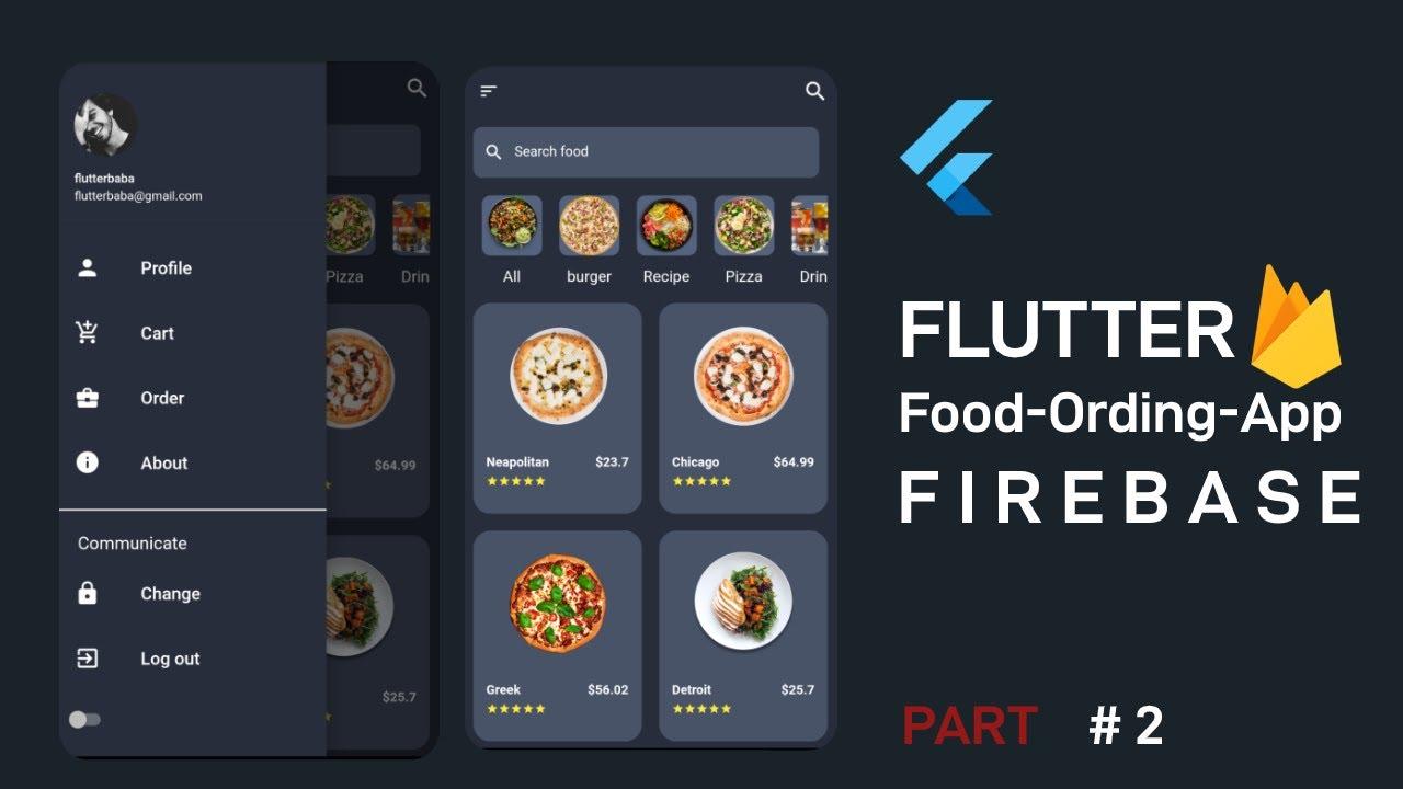 Create Food Ordering App Welcome Page (Part 2) in Hindi &Urdu