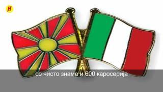 L'italiano ( l asciatemi cantare ) со македонски превод