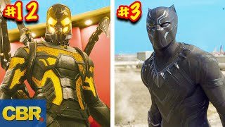 MCU Characters Suits Ranked From Worst To Best Looking thumbnail
