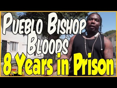 Projeck Bo from the Pueblo Bishop Bloods in the Pueblo Del Rio Housing projects