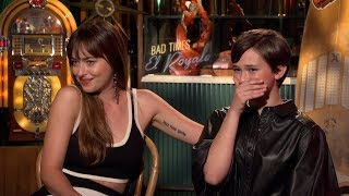 Bad Times at the El Royale interview: Dakota Johnson & Cailee Spaeny