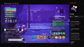 Live ps4 Fortnite save the world with Mbs canna