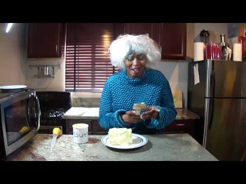 Paula Deen Makes Butter Pie Y'all ...  By GloZell