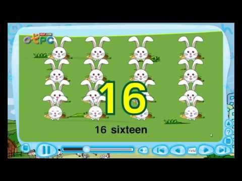 เพลงสอนนับเลขภาษาอังกฤษ 11 ถึง 100 ชื่อเพลง Number