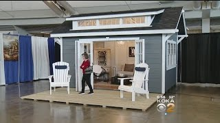 "Home And Garden Show Introduces ""She Sheds"""