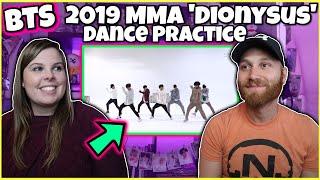 [CHOREOGRAPHY] BTS (방탄소년단) 2019 MMA 'Dionysus' Dance Practice REACTION