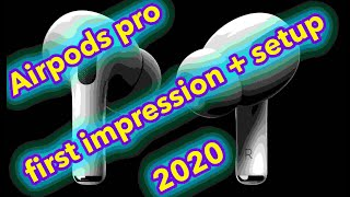 Airpods pro review and first impression