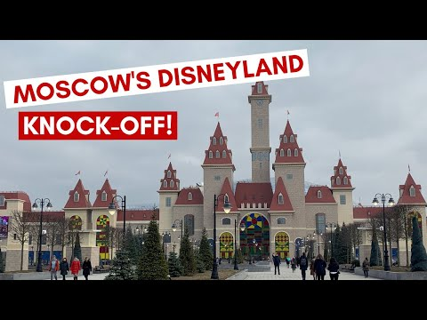 Russia's 1.5 BILLION DOLLAR Disneyland Knock-Off is TERRIBLE
