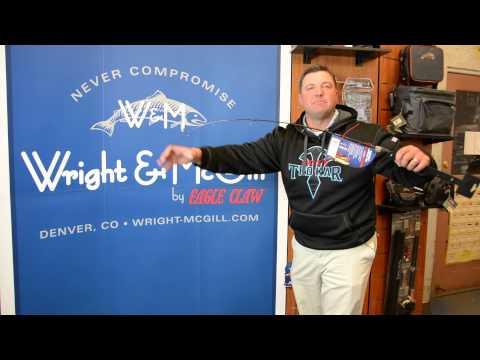 Wright & McGill Tony Roach Stand Up Ice Fishing Rods