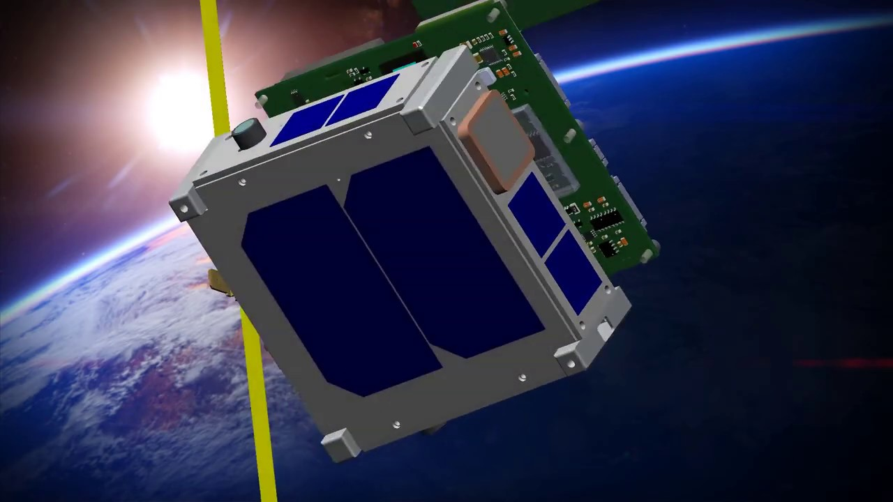 The cubesat FEES (Flexible Experimental Embedded Satellite):Project
