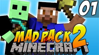 Minecraft Mods - MAD PACK #1
