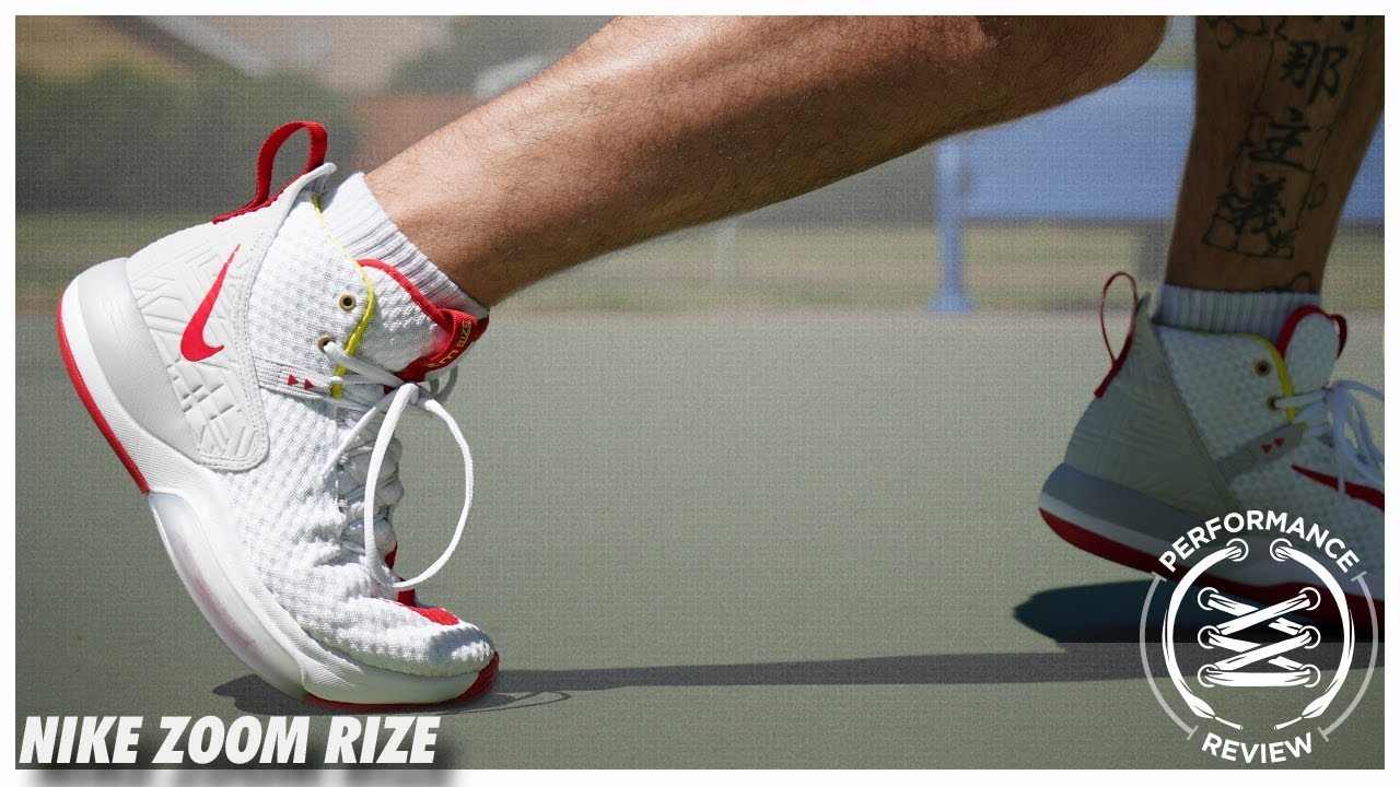 detailed look 5ec56 73248 Nike Zoom Rize Performance Review