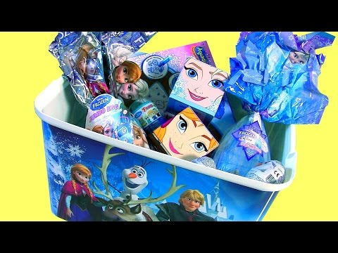 Thumbnail: Disney Frozen SURPRISE TOYS Collection CUBEEZ Vinylmation Clay Fashems Aquadoodle Princess Dress-Up