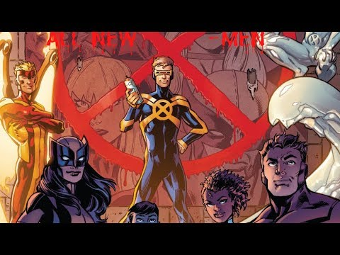 [MARVEL] All New X-Men #1 - Past To Present Motion Comic (OneShot)
