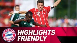 BCF Wolfratshausen - FC Bayern 1:4 | Highlights | Freundschaftsspiel