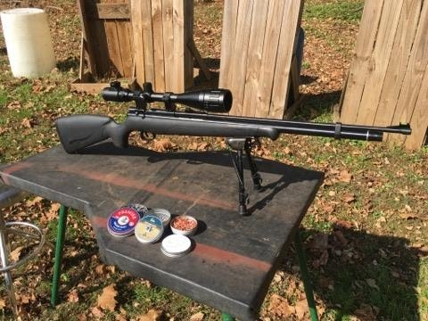 Benjamin Maximus 22  Cal Air Rifle Test Review