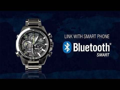 CASIO EDIFICE Bluetooth® SMART enabled EQB-500 product video