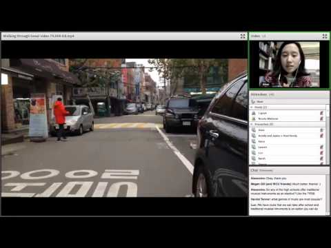 NSLI-Y Virtual Event: Transportation and Commuting in Seoul