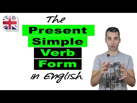 Present Simple Verb Form in English - English Verb Tenses