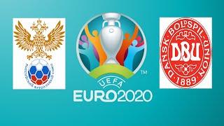 EURO 2020 RUSYA-DANİMARKA MAÇI GAMEPLAY