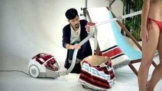 Dyson Vacuum Cleaner Commercial (bikini photoshoot)