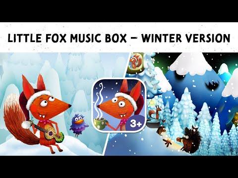 Little Fox Music Box app for kids – Christmas Edition